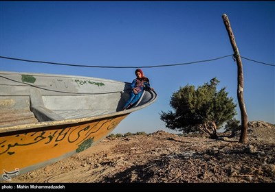 بحران ریزگرد ها در روستای ریگ موری - زابل
