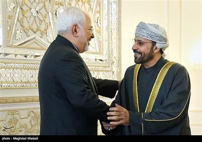 ظریف یستقبل وزیر الداخلیة العمانی فی العاصمة طهران