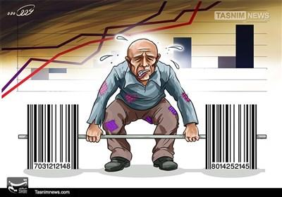 کاریکاتور/ گرانی و کاهش قدرت خرید!!!