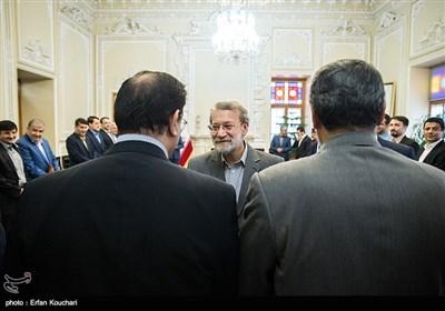 دیدار مدال آوران المپیک ریو با رئیس مجلس