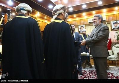 دیدار وزرای کشور ایران و عمان