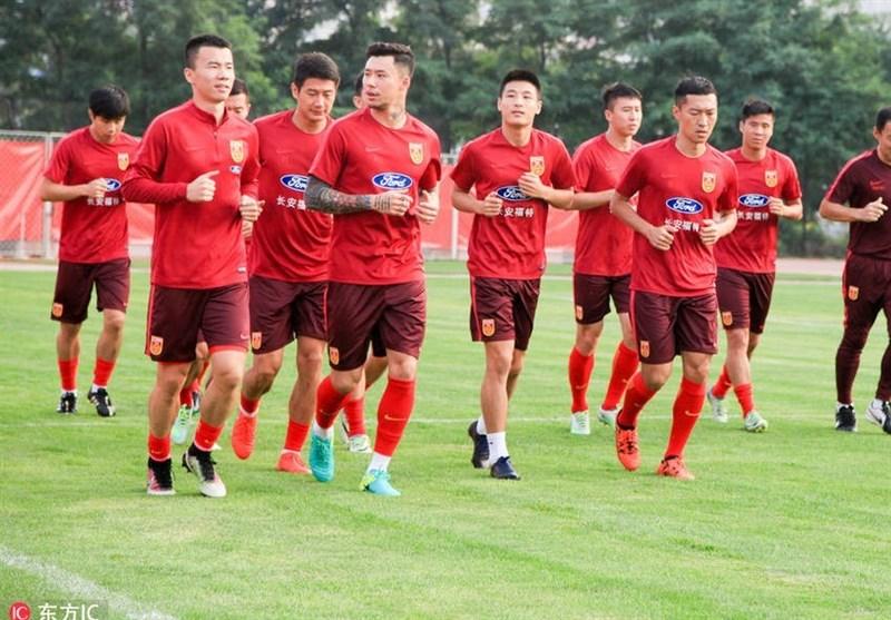تمرینات آمادهسازی تیم ملی چین به روایت تصویر