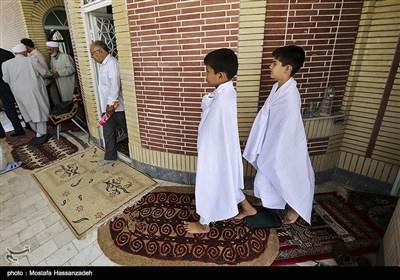 مراسم بزرگداشت جانباختگان فاجعه منا - گنبد کاووس