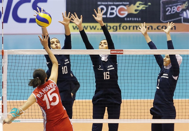 Iranian Volleyball Teams Know Rivals at Asian Championships