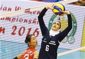 تیم ملی والیبال بانوان ایران مغلوب چین تایپه شد