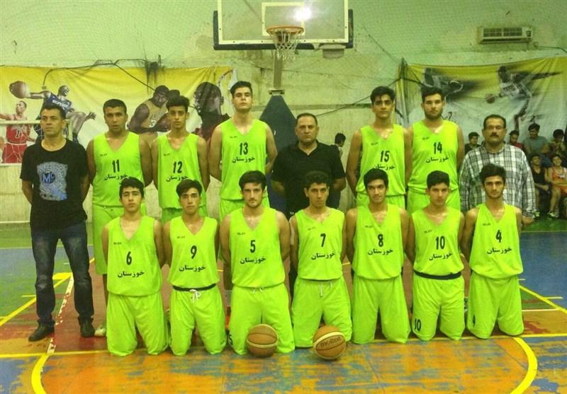 نوجوانان خوزستان نائب قهرمان مسابقات کشوری بسکتبال شدند