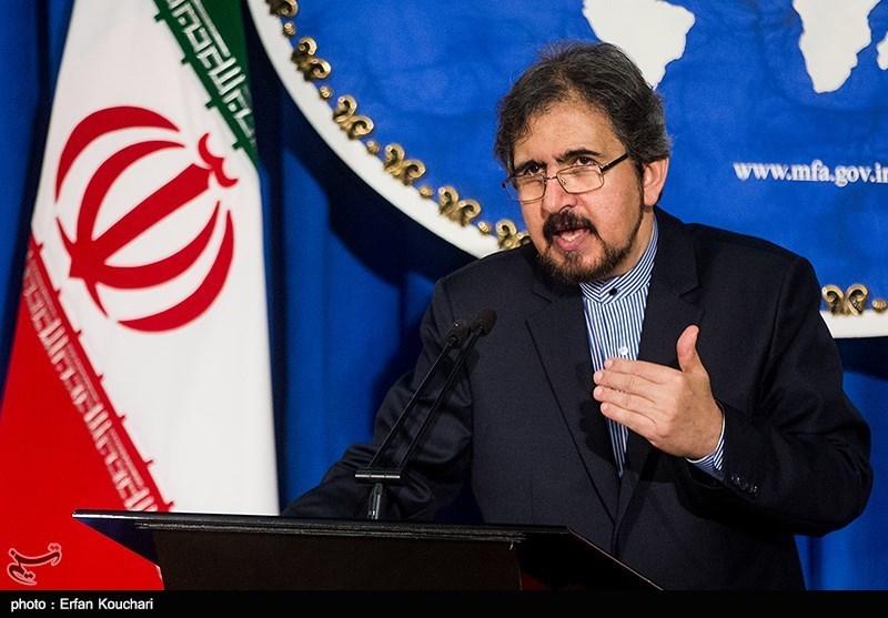 قاسمی کا ایرانی عدالتی امور میں امریکہ کی دخالت کے خلاف سخت رد عمل کا اظہار
