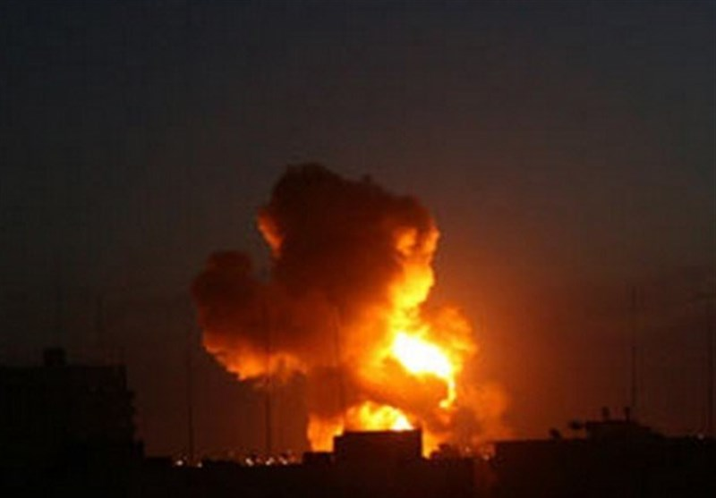 Siyonist İsrail Yine Gazze Şeridi'ni Vurdu