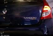 رونمایی از خودروی ساندرو - کرج