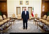 دیدار خداحافظی سفیر پرتغال با محمدجواد ظریف