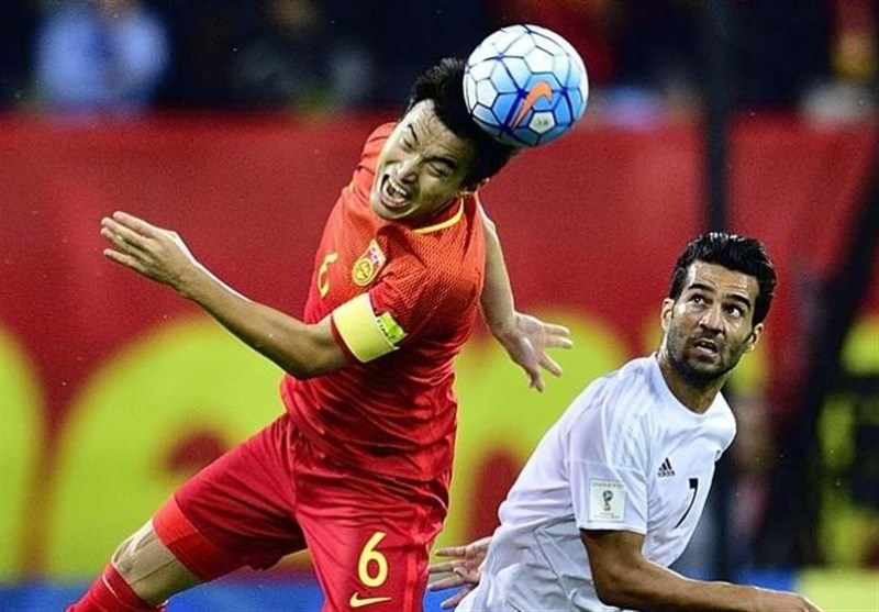 China Coach Hingbo Satisfied with Team's Performance against Iran