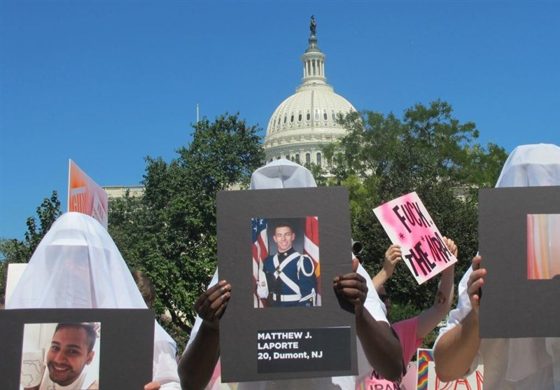 US Activists Stage Protest in Support of Gun Control outside Capitol Hill (+Photos)