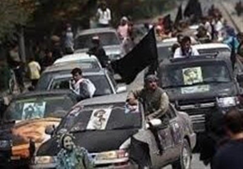 کاروان هواداران «احمدشاه مسعود» هدف حمله انتحاری قرار گرفت