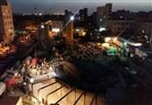 یکی از محبوسین حادثه کارگاه مترو در کیانشهر زنده خارج شد