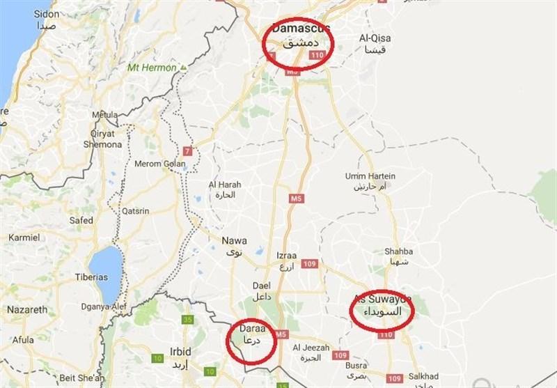 شامی فوج کا درعا کےجنوبی شہروں کی جانب عنقریب شروع ہونے والا آپریشن/ تصویری رپورٹ