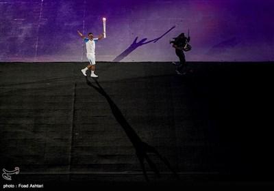 حمل مشعل مسابقات پارالمپیک ریو 2016