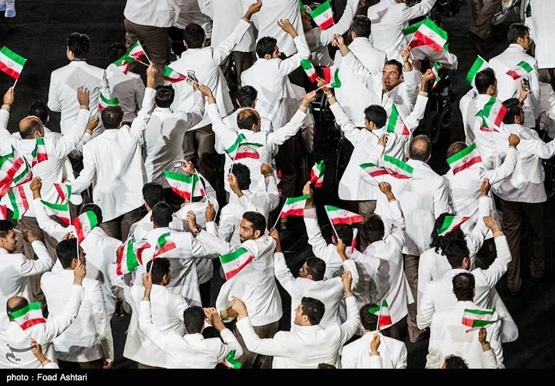 """""""منا کاروان"""" نامی ایرانی کھلاڑیوں کا قافلہ 24 تمغوں اور ایک جان بحق کھلاڑی کے ہمراہ وطن واپس"""