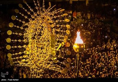 روشن شدن مشعل مسابقات پارالمپیک ریو 2016