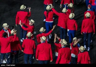 مراسم افتتاحیه مسابقات پارالمپیک ریو 2016
