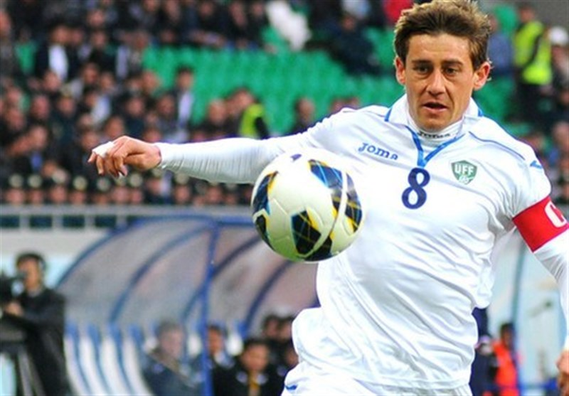 Uzbekistan's Server Djeparov Linked with Esteghlal Move