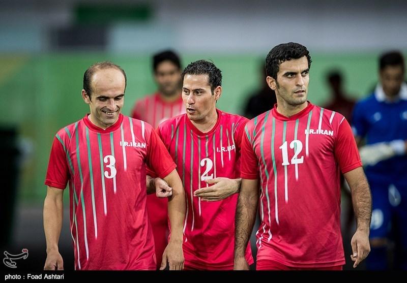 پیروزی تیم فوتبال هفت نفره ایران مقابل آرژانتین