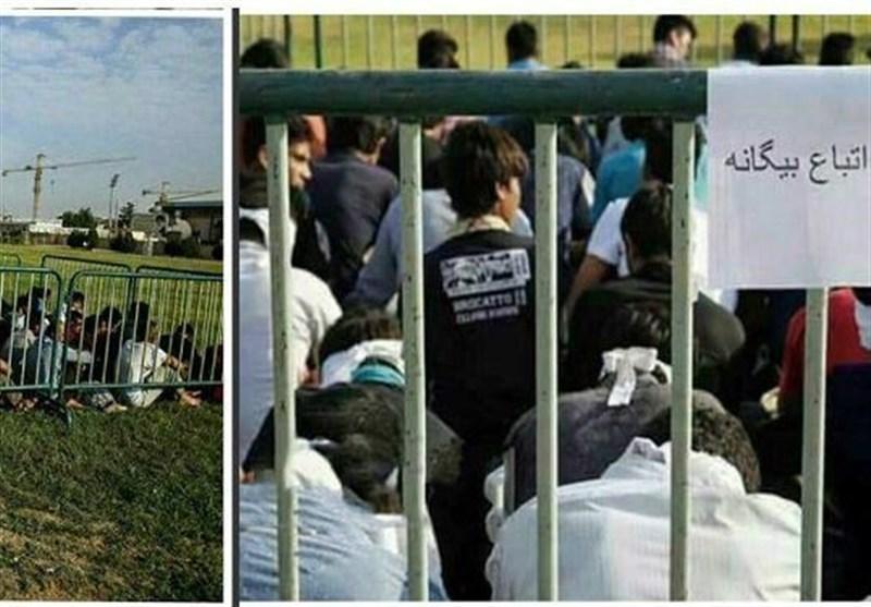 دستگیری مهاجرین افغان در شیراز