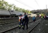 خروج قطار از ریل در اسپانیا
