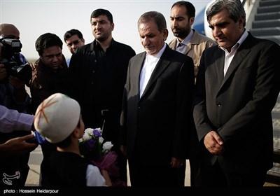 ورود معاون اول رئیس جمهور به بوشهر