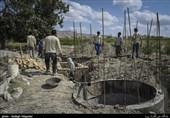 طرح آب رسانی گروه جهادی به مناطق محروم خراسان شمالی