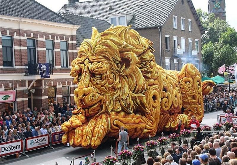 تصاویر/ رژه گل ها در هلند