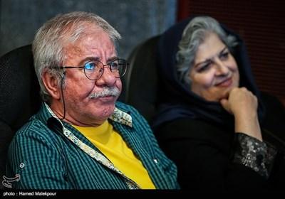 فرشته طائرپور و مسعود کرامتی در آئین نکوداشتهای هجدهمین جشن سینمای ایران
