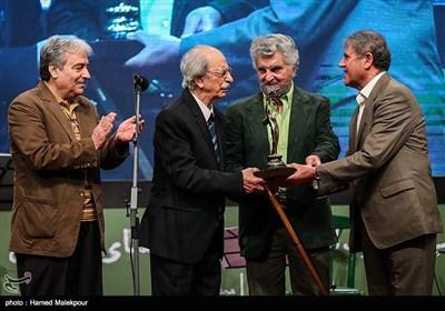 تجلیل از سیدمحمد خادم سینمادار قدیمی سینمای ایران