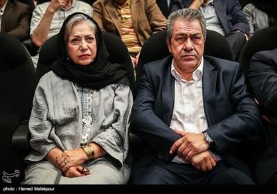 جهانگیر کوثری و رخشان بنیاعتماد در آئین نکوداشتهای هجدهمین جشن سینمای ایران