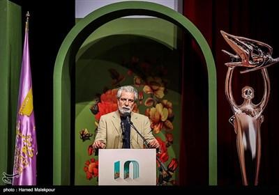سخنرانی منوچهر شاهسواری مدیرعامل خانه سینما در آئین نکوداشتهای هجدهمین جشن سینمای ایران