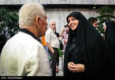 الهام چرخنده در آئین نکوداشتهای هجدهمین جشن سینمای ایران