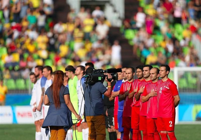 منتخب ایران لکرة قدم المکفوفین یفوز على نظیره المغربی