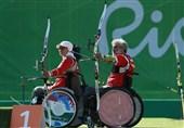 صعود تیم ملی میکس تیراندازی باکمان ایران به مرحله نیمه نهایی