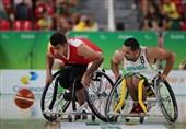 شکست تیم بسکتبال با ویلچر ایران مقابل برزیل