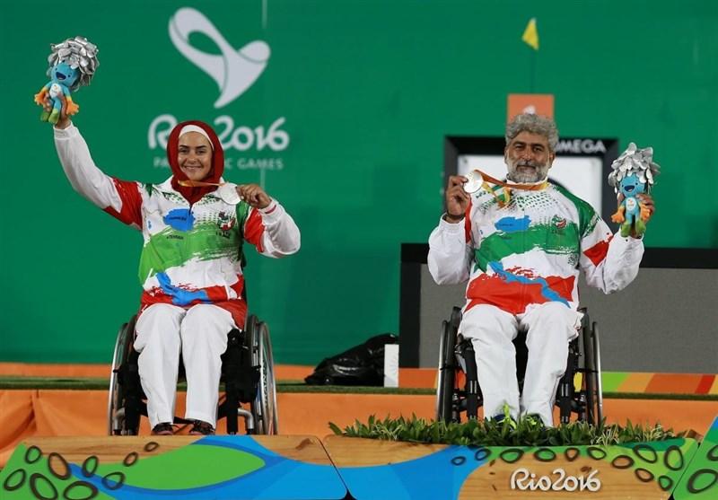 ایران با نقره تیروکمان، در رتبه سیویکم جدول توزیع مدالها قرار گرفت
