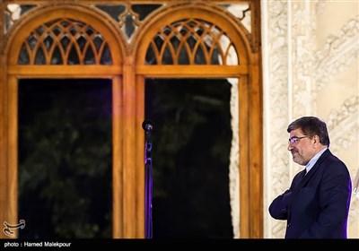 علی جنتی وزیر فرهنگ و ارشاد اسلامی در جشن روز ملی سینما