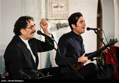 اجرای موسیقی توسط شهرام و حافظ ناظری در جشن روز ملی سینما