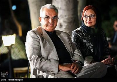 ابوالحسن داوودی و همسرش بیتا منصوری در جشن روز ملی سینما