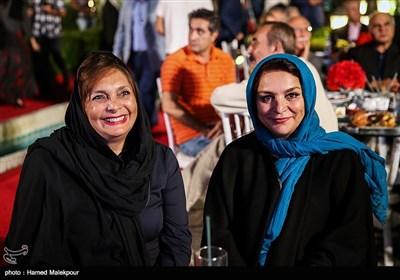 تهمینه میلانی و منیژه حکمت در جشن روز ملی سینما