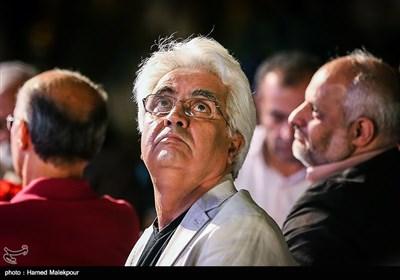 حسین جعفریان مدیر فیلمبرداری در جشن روز ملی سینما