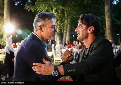 امین حیایی و دانیال حکیمی در جشن روز ملی سینما
