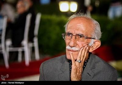 غلامحسین امیرخانی استاد خوشنویسی در جشن روز ملی سینما