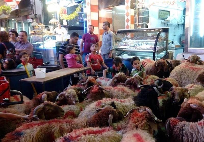 حال و هوای عید قربان در بازارهای دمشق + تصاویر