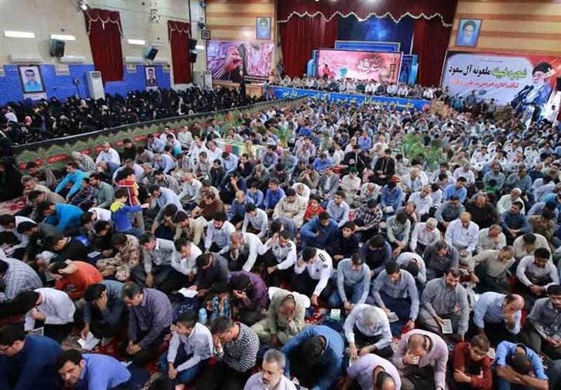 آوای پرفضیلت دعای روز عرفه در استان بوشهر طنینانداز شد