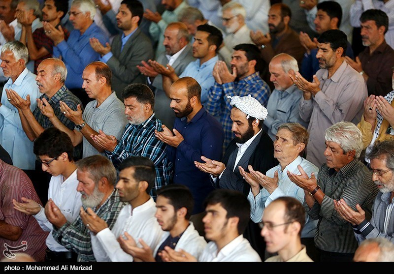 نماز عید قربان - دانشگاه تهران