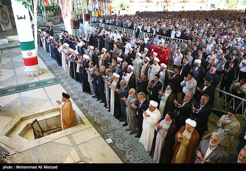 ایران میں آج عید سعید الاضحی پوری عقیدت اور احترام کے ساتھ منائی گئی+تصاویر